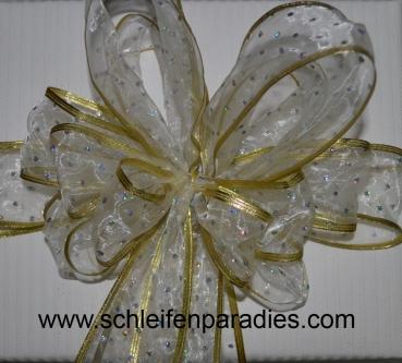 schleifenparadies glitzerschleife f r geschenk und schult te glamour pur schleife f r. Black Bedroom Furniture Sets. Home Design Ideas