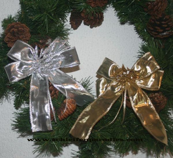 schleifenparadies weihnachtliche grosse geschenkschleife weihnachtsschleife advendsdeko. Black Bedroom Furniture Sets. Home Design Ideas