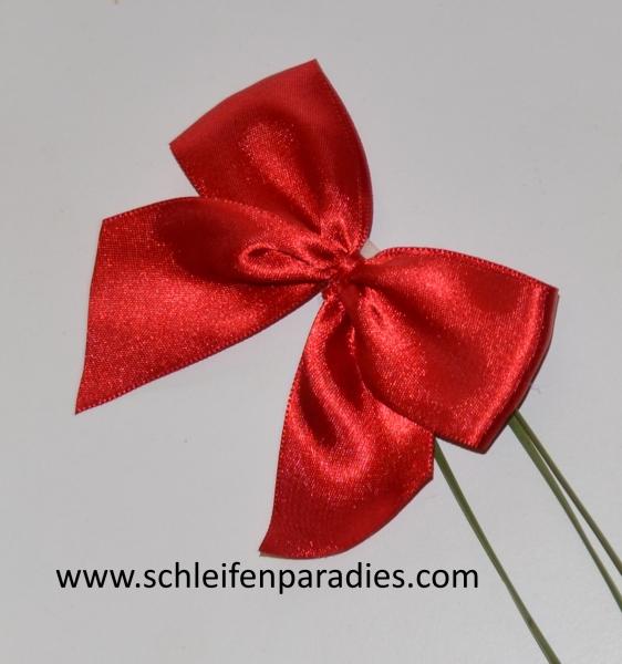 schleifenparadies rote satinschleife kleine rote oder. Black Bedroom Furniture Sets. Home Design Ideas