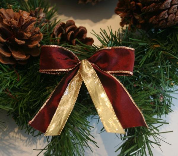 schleifenparadies kleine allroundschleife f r christbaum und geschenk 12 x kleine schleife. Black Bedroom Furniture Sets. Home Design Ideas