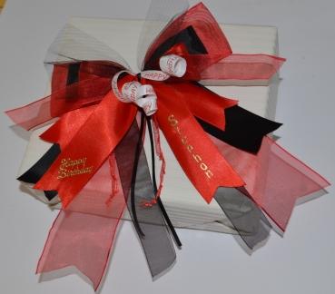 schleifenparadies geschenkschleife f r geldgeschenke oder p ckchen. Black Bedroom Furniture Sets. Home Design Ideas