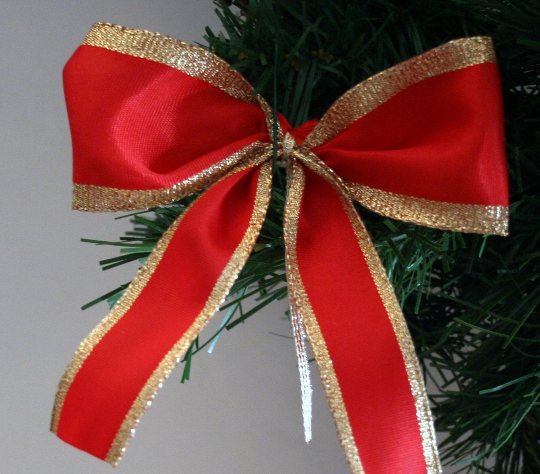 Schleifen Weihnachtsbaum.Schleifenparadies Christbaumschleife Christbaumanhänger Schleife