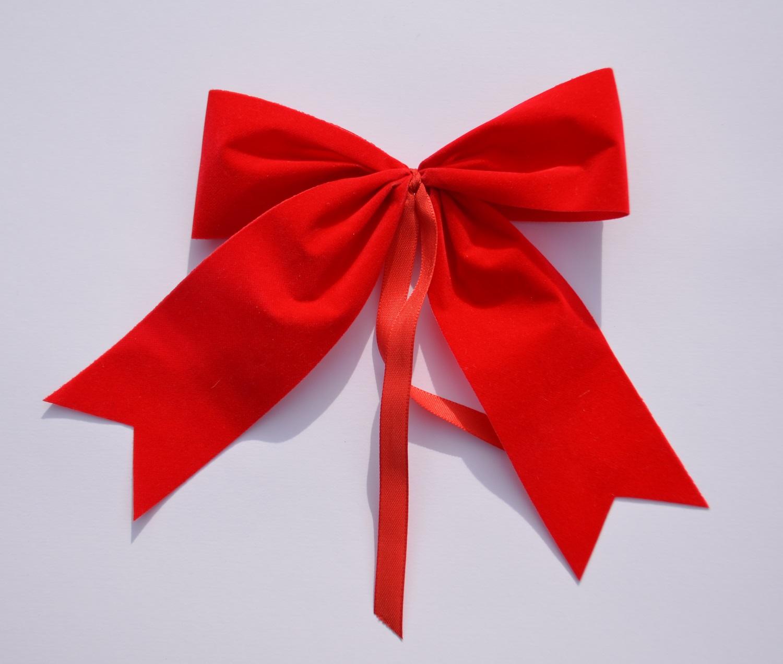 schleifenparadies rote wetterfeste schleife f r advent und weihnacht. Black Bedroom Furniture Sets. Home Design Ideas