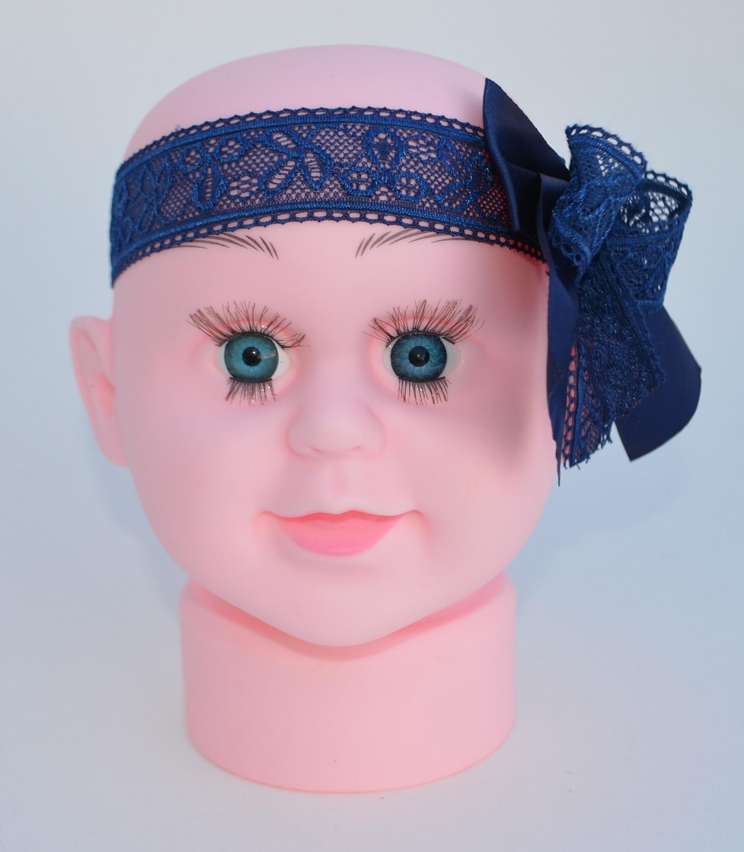 6bd078dfd02597 Haarband für Baby, Spitze, Babyhaarband, Haarschleife für Taufe, Hochzeit